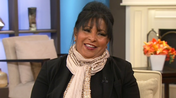 Actress, author, and philanthropist Pam Grier appears on Canada AM, Thursday, Feb. 2, 2012.