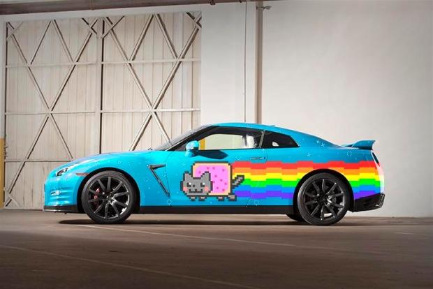 Nissan Nyan Cat GTR