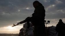 Pro-Russian fighters in eastern Ukraine