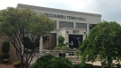 Tecumseh town hall can be seen in Tecumseh, Ont. on Aug. 27, 2014. (Michelle Maluske/ CTV Windsor)