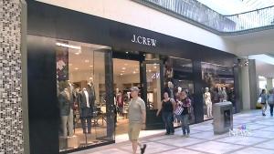 A J. Crew store in Ottawa. (File/CTV)