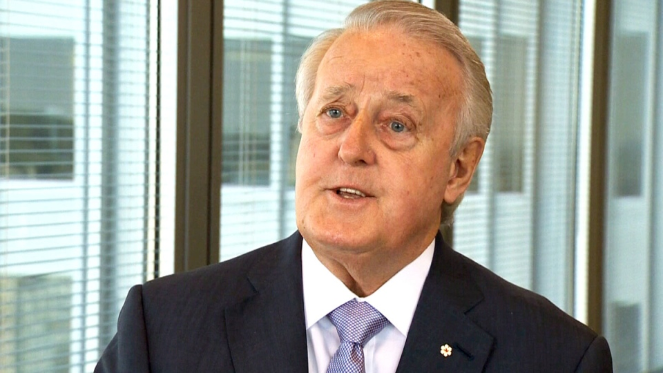 Brian Mulroney speaks to Power Play host Don Martin on Thursday, Sept. 4, 2014.
