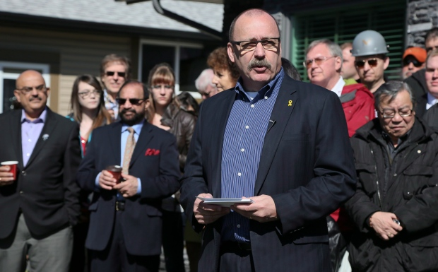 Ric McIver announces candidacy for PC leader