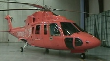 The ORNGE air ambulance has delayed releasing new choppers.
