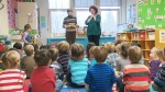 Undated file photo of children in a kindergarten class.