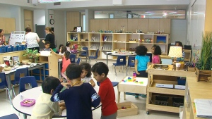 With as many as 40 children in new all-day kindergarten classrooms, some parents are wondering if it's too much for teachers to handle.
