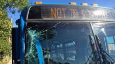 stolen bus saskatoon