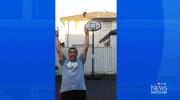 CTV Vancouver: Freak basketball shot
