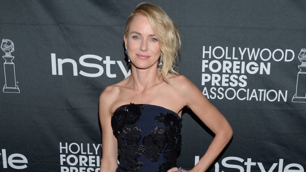 Actress Naomi Watts attends the Hollywood Foreign Press Association and InStyle party at the Windsor Arms Hotel during the Toronto International Film Festival in Toronto on Saturday, Sept. 6, 2014. (Evan Agostini / Invision)