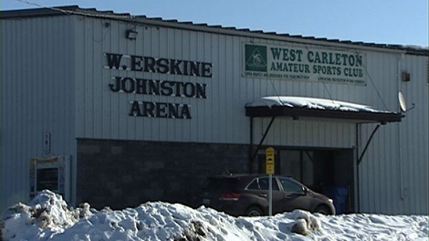 A 15-year-old is dead after collapsing at the Carp Arena during a hockey game Sunday, Feb. 5, 2012.