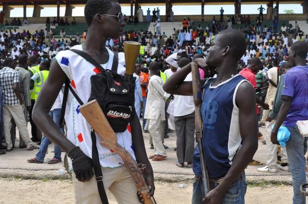 Nigeria vigilantes - Sept. 2014