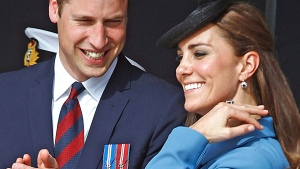 Prince William, Duke of Cambridge and Kate, the Duchess of Cambridge, are expecting their second child. The couple's office, Clarence House, said the couple and their families were 'delighted' with the news. (AP / Remy de la Mauviniere)