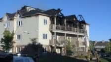 Findlay creek fire aftermath
