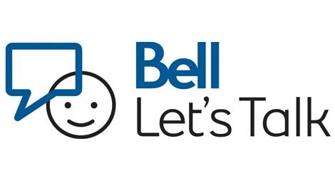 Image result for bell let's talk images