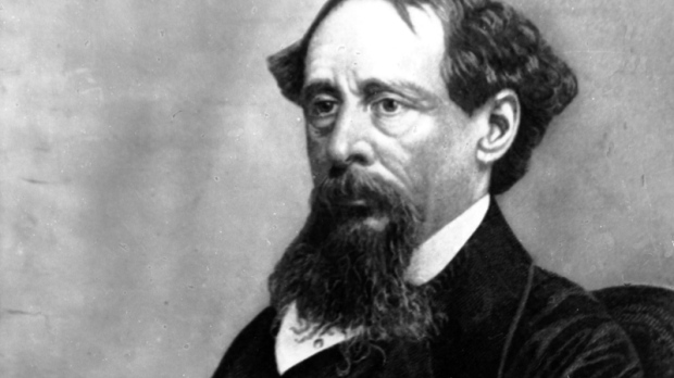 Novelist Charles Dickens poses for a photograph in this undated photo. (AP Photo)