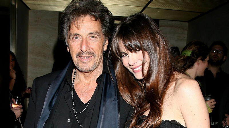 "In this photo provided by StarPix, actor Al Pacino and his girlfriend Lucila Polak Sola attend the after party for the New York premiere of HBO's film ""You Don't Know Jack: The Life and Deaths of Jack Kevorkian"" Wednesday, April 14, 2010. (AP Photo/Dave Allocca, StarPix)"