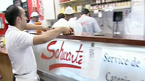 Montreal residents are concerned after famous deli Schwartz changes ownership.