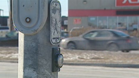 The City of Winnipeg said many of the pedestrian-crossing buttons at major intersections have been deactivated.