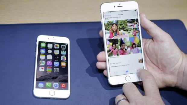 iPhone 6 unveiled in California