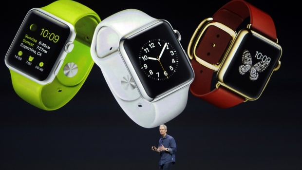 Apple Watch unveiled by CEO Tim Cook