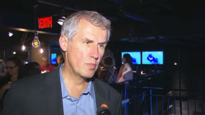 David Soknacki speaks to CTV Toronto at his 60th birthday on Tuesday, Sept. 9, 2014.