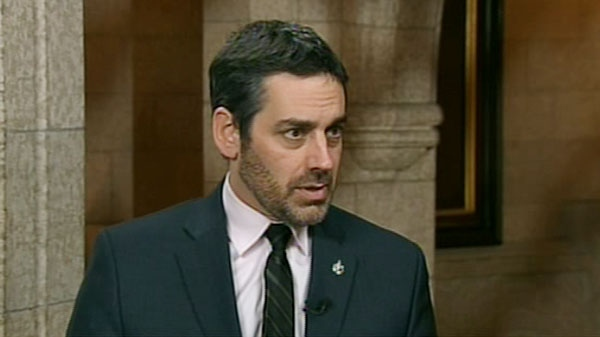 NDP MP Pierre Nantel speaks with Don Martin on CTV's Power Play on Feb. 7, 2012.