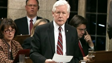 Liberal interim leader Bob Rae speaks during question period in the House of Commons on Parliament Hill in Ottawa, Wednesday, Feb.8, 2012.