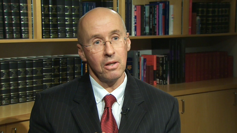 Parliamentary Budget Officer Kevin Page speaks to CTV News on Feb. 8, 2012.