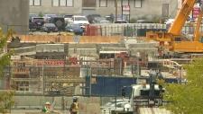 Construction site, Edmonton