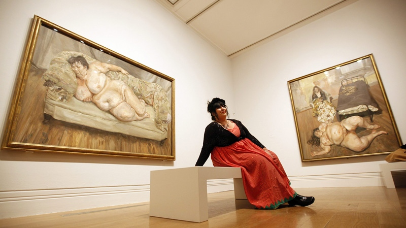 Lucian Freud And His Subjects Bare All In London Ctv News