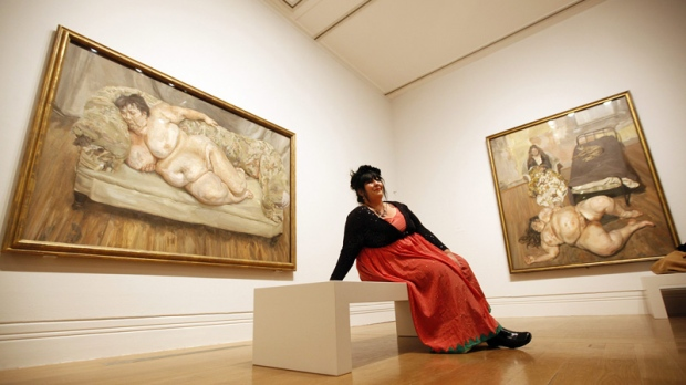 lucian freud  and his subjects  bare all in london