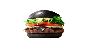 Black Burger King burger