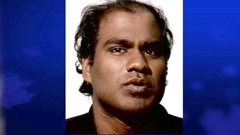 Mylvaganam Vaasuhan is seen in this handout photo made available by the Toronto Police Service.