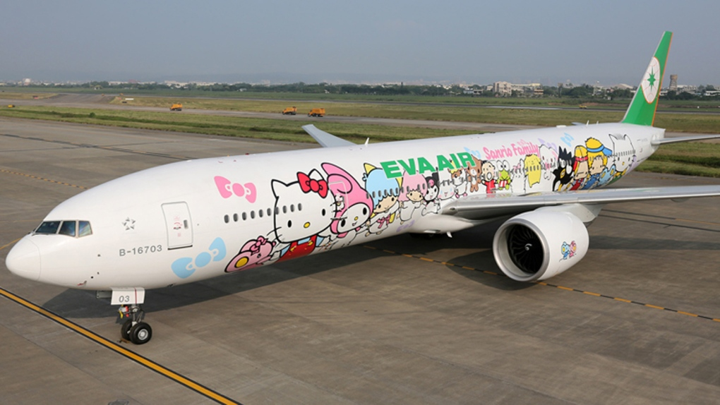 'Hello Kitty' Eva Air