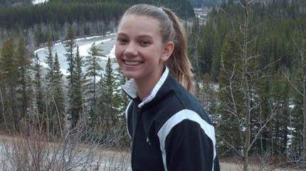 Brittney McInnes ,17, was found murdered in her Canyon Meadows home.