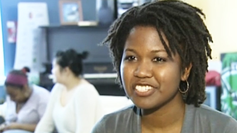 Chantal Murulaz of the Desta Black Network said people feel comfortable when participating at the centre.