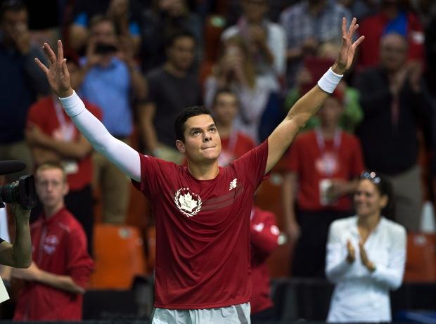 Milos Raonic Davis Cup