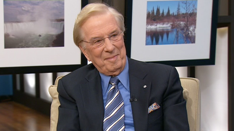 Lloyd Robertson appears on Canada AM, Friday, Feb. 10, 2012.