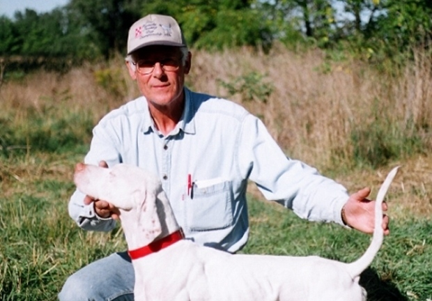 Don Frigo, shot dead at the Hullett Wildlife Conservation Area near Clinton, Ont., is seen in this photo.