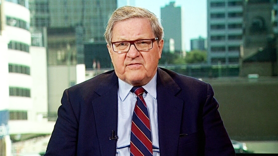 Former Foreign Affairs Minister Lloyd Axworthy appears on CTV's Power Play on Monday, Sept. 15, 2014