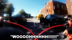 CTV Ottawa:  Video proof of cycling dangers