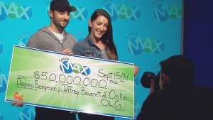 CTV Toronto: Couple hits the jackpot