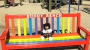 School in Winnipeg launches 'Buddy Bench' to help teach kids to be inclusive at recess.