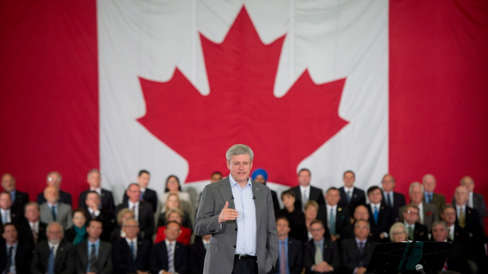 Harper talks about parliament session in speech