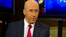 Parliamentary Budget Officer Kevin Page speaks on CTV's Question Period on Sunday, Feb. 12, 2012.