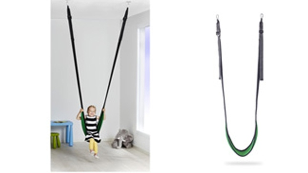 Ikea recalls gunggung fabric swing citing risk suspension fitting could brea - Suspension plume ikea ...