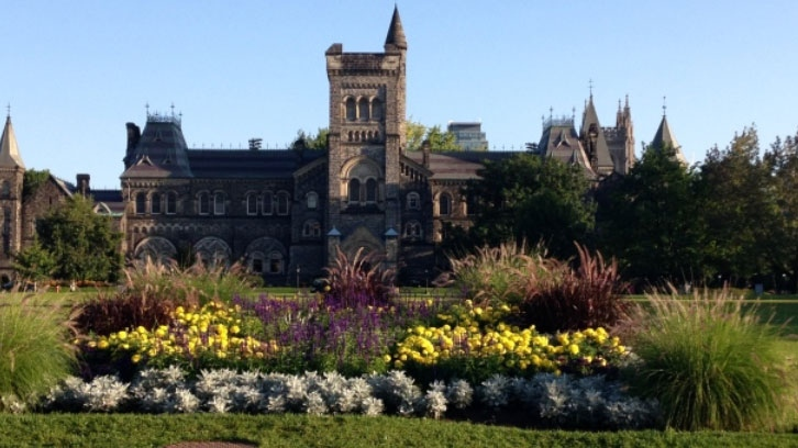 Part of the University of Toronto campus is pictured on Tuesday, Aug. 19, 2014. (George Stamou / CTV News)