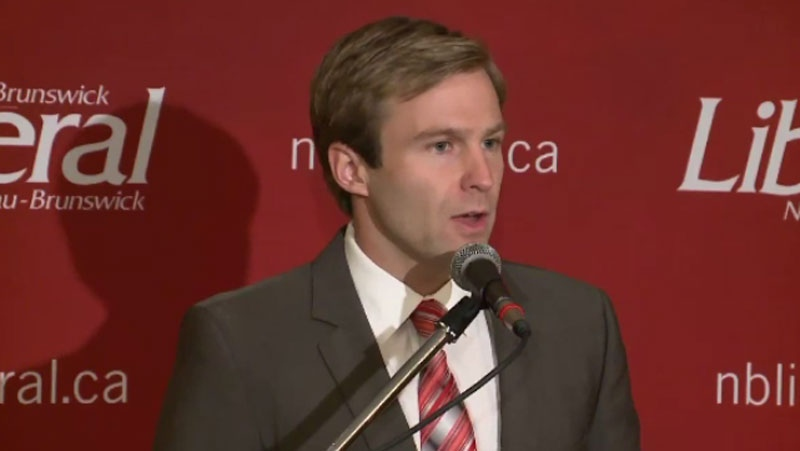 New Brunswick Liberal Leader Brian Gallant is condemning a pro-life postcard bearing a picture of him alongside several graphic images of abortions. (CTV Atlantic)