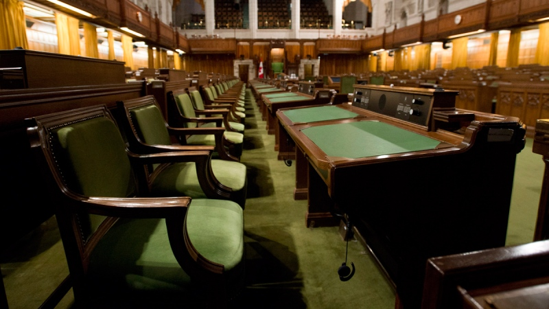 The House of Commons sits empty on Parliament Hill in Ottawa, Friday, Sept. 12, 2014. (Adrian Wyld / THE CANADIAN PRESS)