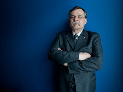 Harold Leduc poses in Ottawa, Tuesday Feb.1, 2012. (THE CANADIAN PRESS/Adrian Wyld)
